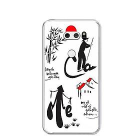Ốp lưng dẻo cho điện thoại LG V30 - 0391 CHAME02 - Hàng Chính Hãng
