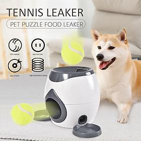 Máy Phát Bóng Tennis Tự Động Cho Cún Cưng Chơi Đùa