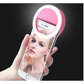Đèn led kẹp điện thoại bổ sung ánh sáng chup hình thêm xinh