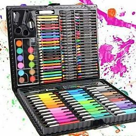 Bộ chì tô màu 150 chi tiết cho bé hộp lớn