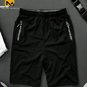 Quần short nam big size quần sọt nam thể thao chống nóng quần đùi nam mặc nhà quần thun nam cotton 4 chiều co giãn cao cấp WSB2