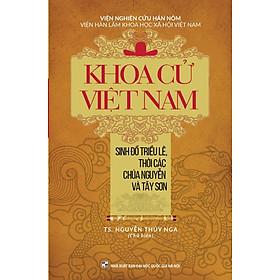 Khoa Cử Việt Nam - Sinh Đồ Triều Lê, Thời Các Chúa Nguyễn Và Tây Sơn