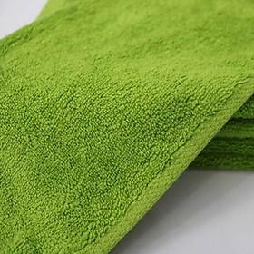 Combo 5 Khăn Làm Nail Cotton Nam Phong 34*34cm - màu Xanh Rêu-2