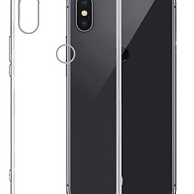 Bộ 2 ốp lưng silicone dẻo cho Xiaomi Redmi Note 6 Pro (trong suốt)