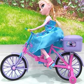 Búp bê baby Frozen đạp xe có đèn
