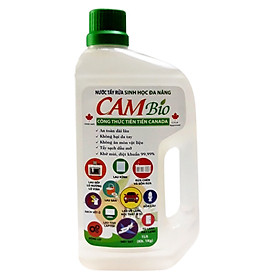 Nước Tẩy Rửa Sinh Học Đa Năng CAM Bio (Không hại da tay, sạch khuẩn 99.99% viện Pasteur kiểm nghiệm)
