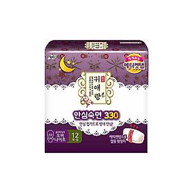 Sofy Gui Ailang (Guai Ai Niang) Sanitary Napkins 33cm Night Use 12 Pieces