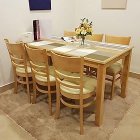 Bộ Bàn Ăn Ulsan 6 Ghế IBIE DTULS6