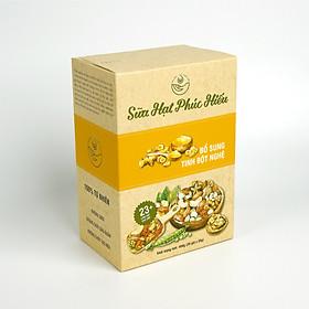 Sữa Hạt Phúc Hiếu Loại Bổ Sung Tinh Bột Nghệ Dành Cho Cả Gia Đình (400g/ hộp 20 gói)