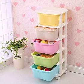 Tủ nhựa Kata 5 ngăn nhiều màu