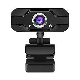 Webcam HD PC Camera Rotatable 12.0M Pixels Adjustable Camera Optical Lens Auto White Balance for PC Laptop Video Recording