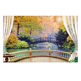 Tranh Dán Tường Phong Cảnh 3D TV0208