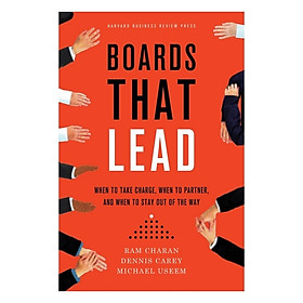 Harvard Business Review: Boards That Lead
