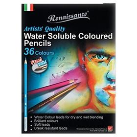 Bộ Bút Chì Màu Nước Renaissance 36 Màu