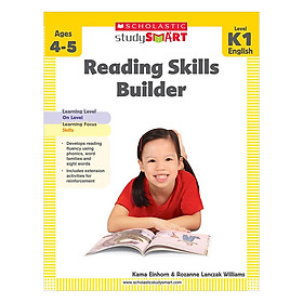Study Smart: Reading Skills Builder K1