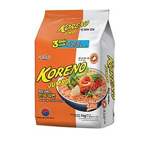 Mì Jumbo Koreno Vị Kim Chi Paldo (1kg)