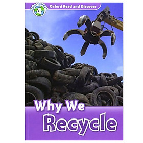 Oxford Read and Discover 4: Why We Recycle Audio CD Pack