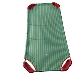 Giường lưới cho bé - xanh lá chân đỏ