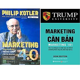 Combo 2 Cuốn: Marketing Trong Cuộc Cách Mạng Công Nghệ 4.0 + Marketing Căn Bản