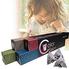 Color Salon Tea Hộp quà tặng đựng trà túi lọc dạng dài cổ điển sáng tạo (4 món)