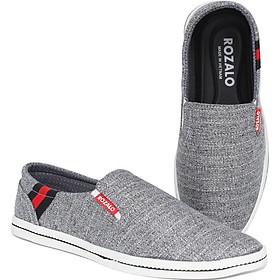 Giày lười vải nam Rozalo R5815