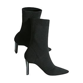 Giày Boot Nữ GB76B - Đen