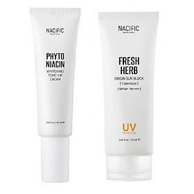 Combo dưỡng da và chống nắng hoàn hảo 3 Nacific