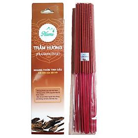 Nhang sạch NAMI 30 cm (chân tăm đỏ)- Nhang Thơm Tinh Dầu Trầm Hương - Loại Cao Cấp