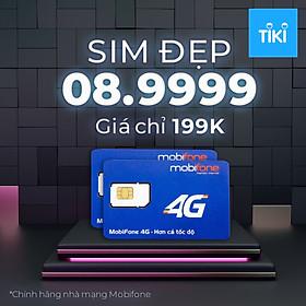 Sim 08.9999 giá 199k chính hãng Mobifone