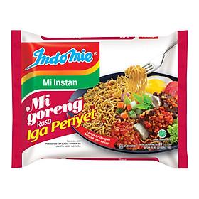 Thùng 40 Gói Mì Xào Khô Indomie Vị sườn - Mi Goreng Rasa Iga Penyet (80gx40)