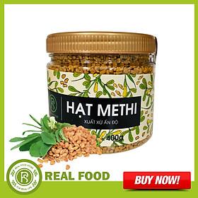 Hũ Hạt Methi REAL FOOD STORE (400g)
