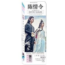 Bookmark Trần Tình Lệnh ma đạo tổ sư hộp ảnh tập ảnh đánh dấu sách kẹp sách tiện lợi 36 tấm dụng cụ học tập tặng ảnh thiết kế vcone