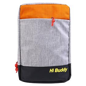Túi Đeo Chéo Đa Năng Nhiều Màu Ver2 Hi Buddy CHBV2 (25 x 39 cm) - Đen Cam