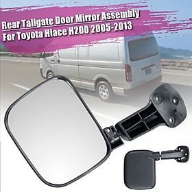 Rear Tailgate Door Mirror Assembly For Toyota Hiace H200 05-13 RIGHT HAND