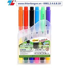 Bút lông 2 đầu 12 màu Thiên Long; Colokit FP-C01