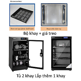 Khay tủ chống ẩm 30-40-50 lít Andbon, Hàng chính hãng