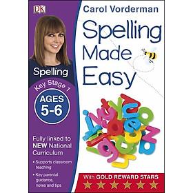 Carol Vorderman: Spelling Made Easy Ages 5-6 Key Stage 1
