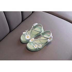 giày sandal bé gái bông cúc