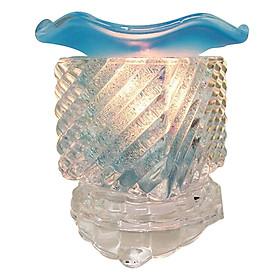 Đèn Xông Tinh Dầu Thủy Tinh MAC03 - Xanh Dương