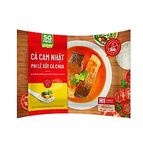 [Chỉ Giao HCM] - Cá Cam Nhật Phi Lê Xốt Cà Chua Sài Gòn Food Gói 240g