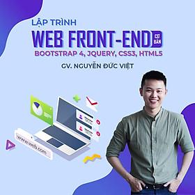 Lập trình web front-end cơ bản với Bootstrap 4, Jquery, CSS3, HTML5