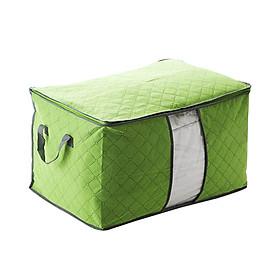 Túi đựng chăn màn, quần áo bằng vải tiện dụng Panda- Màu ngẫu nhiên