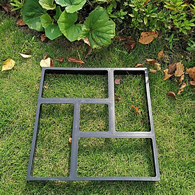 Set of 3 Walk Maker Pathmate Stone Mold Walkway Paving Moulds for Lawn Patio