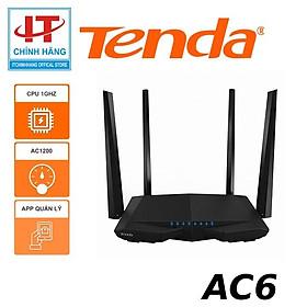 Router Wifi Băng Tầng Kép AC1200 Tenda AC6 - Hàng Chính Hãng