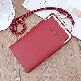 Túi đeo chéo nữ kiêm ví đựng điện thoại Hàn Quốc giá rẻ BAG U HSN155