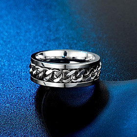 Nhẫn Nam Nữ Khui Bia Titan Khui Bia Tiện Lợi, Chuỗi Xích Đẹp Mắt, Siêu Cứng, Êm Tay