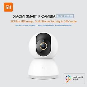 Camera An Ninh Thông Minh Xiaomi Mijia PTZ 2K 3MP Nhìn Được Ban Đêm Toàn Cảnh