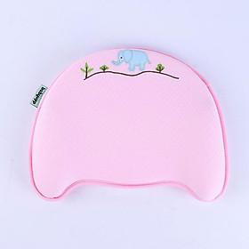 Gối cao su non đa năng ngăn ngừa méo đầu, bẹp đầu, nghẹo cổ, còm lưng cho trẻ sơ sinh và em bé - BABYUPP