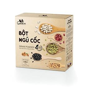 Bột ngũ cốc Goce Việt Nam nguyên chất không đường, hộp 180g (18 gói x 10g) tốt cho sức khỏe, giá tốt