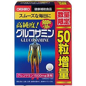 Thực phẩm chức năng viên uống bổ khớp, hỗ trợ trị đau nhức xương khớp Glucosamine Orihiro 1500mg Nhật Bản 950 viên <MẪU MỚI-TẶNG THÊM VIÊN>